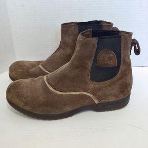 Sorel suede boots